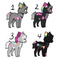 Hyde-Panic Pups by LifeError