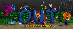 League Of Legends Banner by Rickkmurray