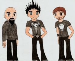 Ghost Adventures Anime Style by TatsuoMizushima