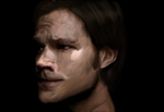 Sam Winchester [Finished] by AStolenRelic