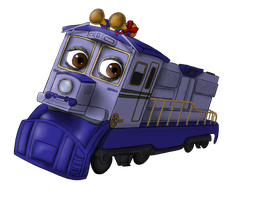 Chuggington: Agatha by Suomen-Ukonilma