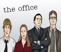 The Office Quartet by alifsu17