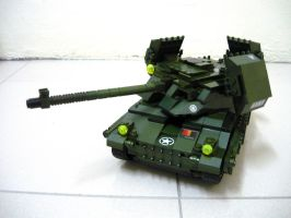 Lego Mirage Tank (RA2) 3 by SOS101