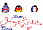 Valentine's day Countryballs by KaninNeko