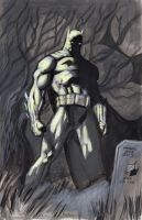 Batman Hush 8-28-2013 by myconius