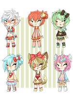 KAWAII DESU SHOTA ADOPTABLES ONE LEFT by Saygo-pohm