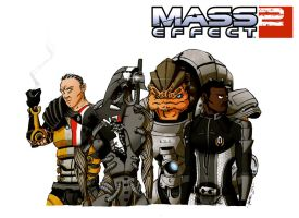 Mass Effect 2 Crew: Part 2 by Hobo92