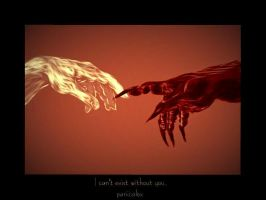 I can't exist without you by Panicalex