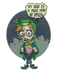 Lachrymal the Leprechaun and his Heinous Hexes by WonderDookie
