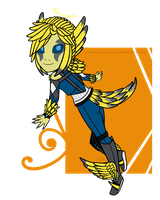Chibi Solace by Astronblackmoon