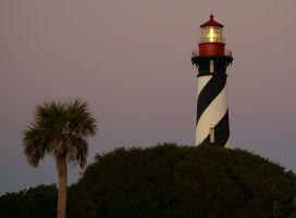 Lighthouse at Dawn by AdARDurden