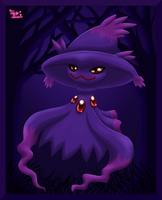 Pokedex Projekt Mismagius by LuckyLucario