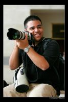 Smile with the camera by Calzinger