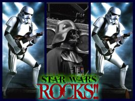 STAR WARS ROCKS !! by StarkilerOmega