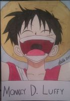 Luffy's laugh by Leidosapiens