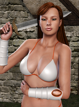 TYRIS FLARE: Pinup time (1) by Furbs3D