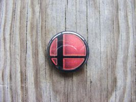 Super Smash Bros. Button by CapsuleCorpButtons