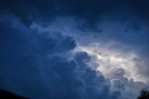 clouds before storm by amka-stock