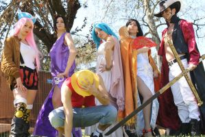 One Piece Cosplay - Italy by Cosmy-Milord