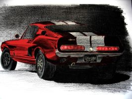 '68 Ford Mustang Shelby by lynzybynz