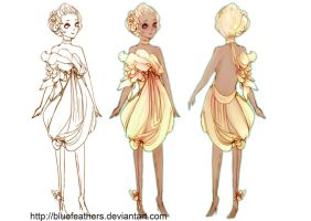 Sweet Floweret Dress by bluefeathers