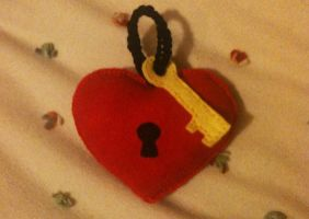 Lock Heart and Key by HomunculusLover