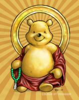 Buddha Pooh Colours by Gib-Art-and-Pinups