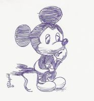 Mickey the silent Mouse by TaRtOoN-Man94