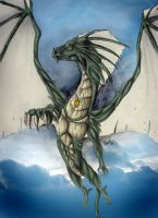 Dracco-King of the Skies by wolf-minori