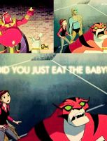 Did You Just Eat The Baby by SpoonfulofLead