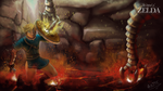 TLoZ Never Give Up by leometroid