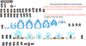 Mini Preview of Felix Spritesheet by Felixthespriter