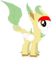 Ponymon: DreamCaster as Leafeon by DreamCasterPegasus