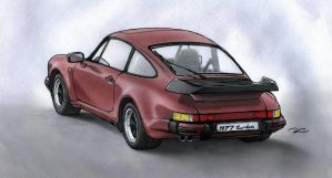 1977 Porsche 911 (930) Turbo by RobtheDoodler
