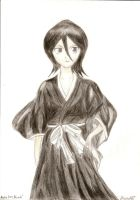 Rukia by MeganeART