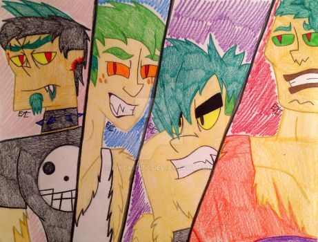 TD Mutant group 10 by Chickie456