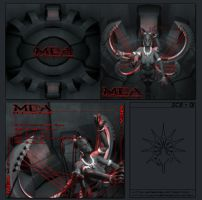 M.D.A. CD-COVER by FabioListrani