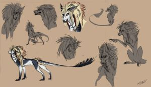 Shail - Sketches and Style try-outs by Autlaw