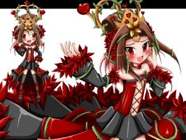 Lili's Queen Of Hearts by JinZhan