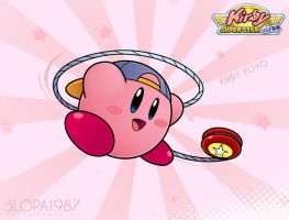 Kirby Yoyo by Blopa1987