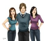 Norman Reedus fans by Dralamy