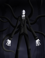 The Slenderman by pIagued