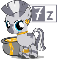 7-zip icon ponyfied by Nerve-Gas