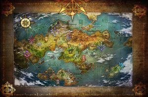LOXSIANA World Map by loxsiana
