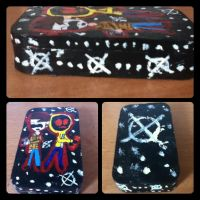Masky and Hoodie (decoration iPod box) by suriminam