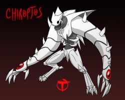 Chiroptos the Blood Beast by pyrasterran