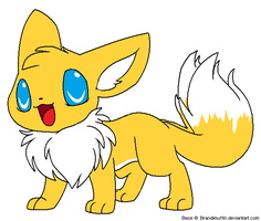 Tails eevee by Blissthehedgehog