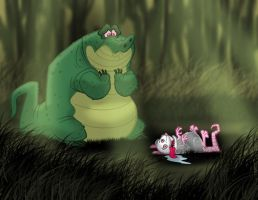 A Croc's Remorse by toonbaboon