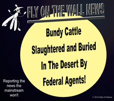 Federal Agents Slaughter Cattle, Attack Protesters by IAmTheUnison