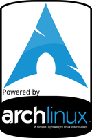 Arch Linux sticker by mxjoao